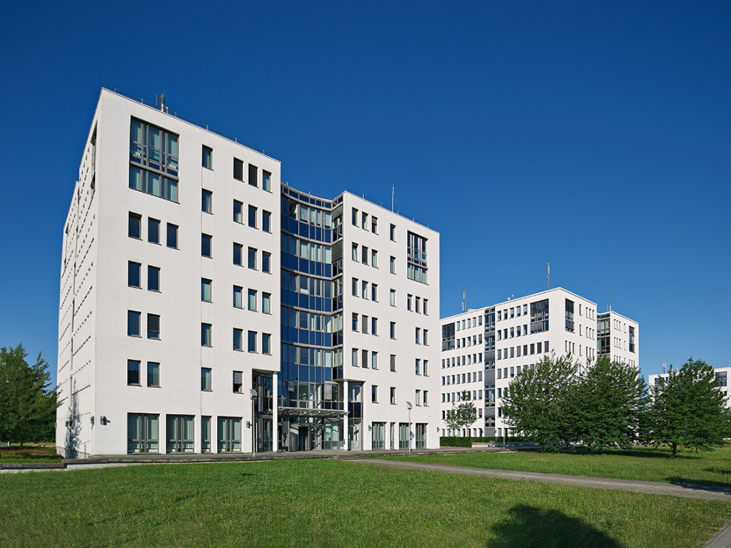 Gebäude TechniData IT-Service Standort Karlsruhe