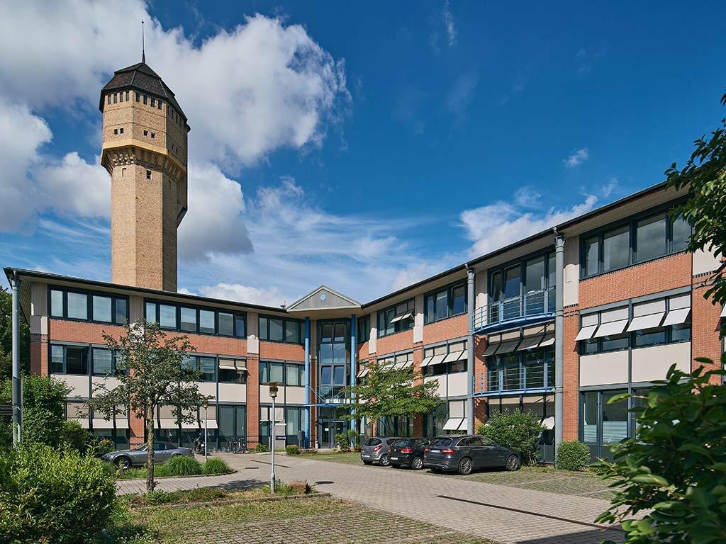 Gebäude TechniData IT-Service Standort Mannheim