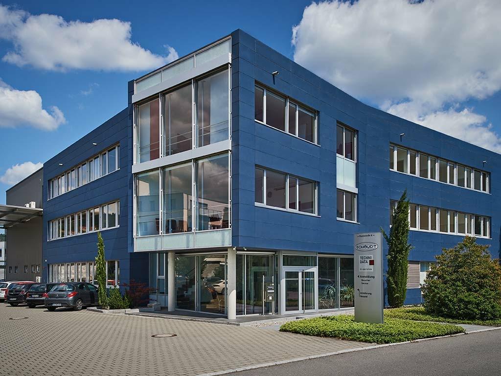 Gebäude TechniData IT-Service Standort Markdorf