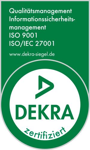 TechniData Zertifizierung ISO9001